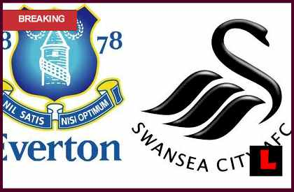 score live Everton vs. Swansea City 2013 Deliver Saturday Showdown