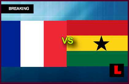 France vs. Ghana U20 2013 Prompts World Cup Group A Battle en vivo live score results today