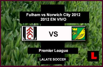 Fullham vs. Norwich City 2012: Damien Duff, Mladen Petric Deliver Early Lead