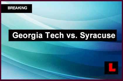Georgia Tech vs. Syracuse 2014 Delivers AP Top 25 Score Showdown