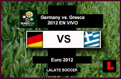 Germany vs. Greece 2012 Struggle for Euro 2012 Semi-Finals Slot