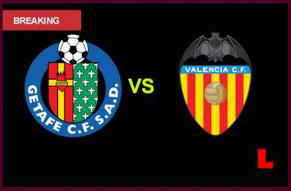 Image Result For Valencia Vs Getafe Vivo