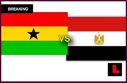 en vivo live score results today Ghana vs. Egypt 2013 Battle for African U-20 Championship
