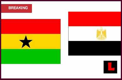 Egypt Vs Ghana 2013 live match today