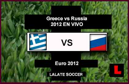 Greece vs Russia 2012 Battle in Final Euro 2012 Group Showdown