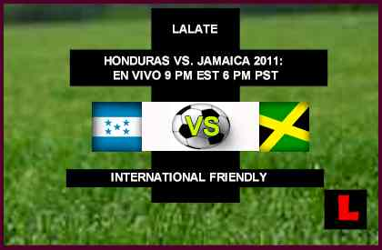 Honduras vs Jamaica 2011 Battle in International Friendly Showdown