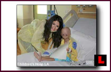 Hana Hwang, Selena Gomez Visit Prompts Thank You from Children's Hospital