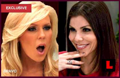 Heather Dubrow, Gretchen Rossi WWHL Sing-off Sought by Fans: EXCLUSIVE