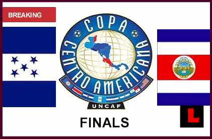 en vivo live score results start time Honduras vs. Costa Rica 2013 Heads to Copa Centroamericana Finals