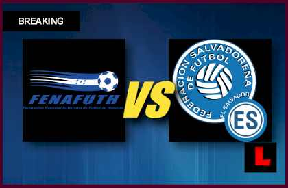 Honduras vs. El Salvador 2013 Copa Oro Delivers Group B Battle  en vivo live score results today