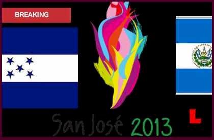 Honduras vs. El Salvador 2013 Heads to U21 Juegos Centroamericanos