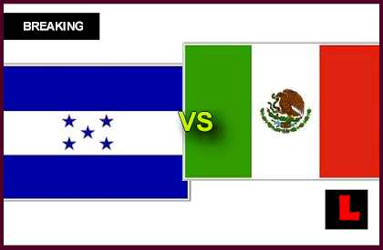 en vivo live score results today Honduras vs Mexico 2013 Battles for Copa Mundial Spot