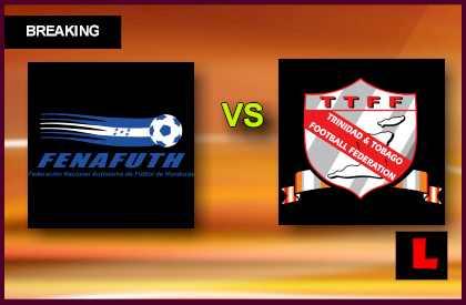Honduras vs. Trinidad and Tobago 2013 Copa Oro Delivers Critical Match en vivo live score results today