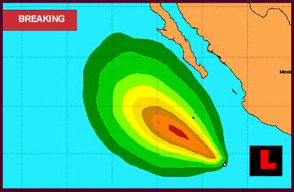 Hurricane Miriam 2012 Projected Path Prompts Mexico Tracking