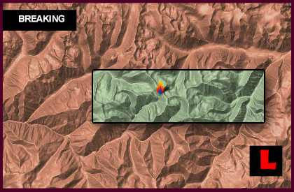 Idaho Fire Map 2013: Thunder City Fire, Bear Lake Fire Spread Today