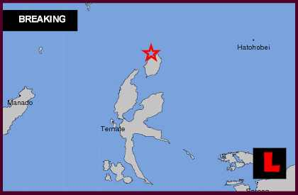 Indonesia Earthquake Today 2013: 6.3 Strikes Near Tobelo