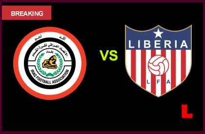 Iraq vs. Liberia 2013 Battles in Soccer Friendly Today en vivo live score results today