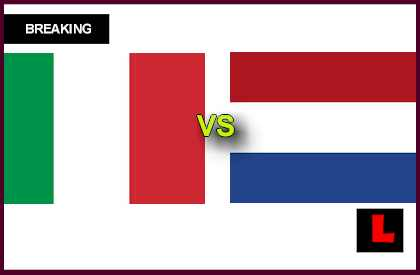 Italy vs. Netherlands U21 2013 Prompts Under 21 Semifinals en vivo live score results today