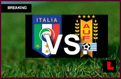 Italy vs. Uruguay 2013 Score Prompts U17 Copa Mundial Battle en vivo live score results today