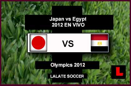 Japan vs. Egypt 2012 to Battle in Olympics Quarterfinals Showdown