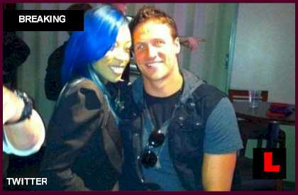 Ryan Lochte Girlfriend 2011 http://news.lalate.com/2012/07/31/ryan-lochte-girlfriend-k-michelle-blair-evans-battle-dating-reports/