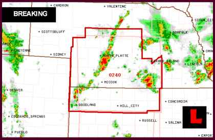 Kansas, Nebraska Tornado 2013 Watch Today Issued For Sections