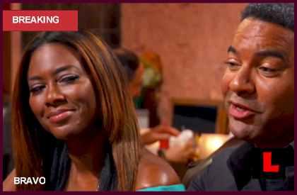 Kenya Moore Walter Jackson Fake Boyfriend Scandal Ignites RHOA