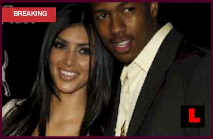  Kim Kardashian Tape: Nick Cannon Claims She's Denied Existence