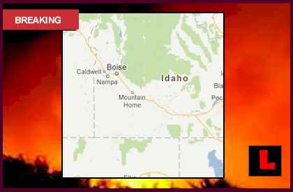 Kinyon Road Fire Map Prompts Idaho Wildfires Concerns