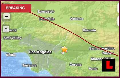 La Verne Earthquake Today 2013 Strikes Southern California