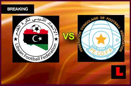 Libya vs congo 21-1-2014 match African Championship for local players in 2014 CHAN