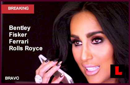 Lilly Ghalichi Cars Drive into the Shahs of Sunset Reunion