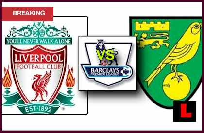 score live lineup Liverpool vs. Norwich City 2013: Luis Suarez Seeks Saturday Win