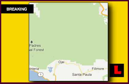 Lockwood Valley Fire 2012 Expands in Los Padres National Forest