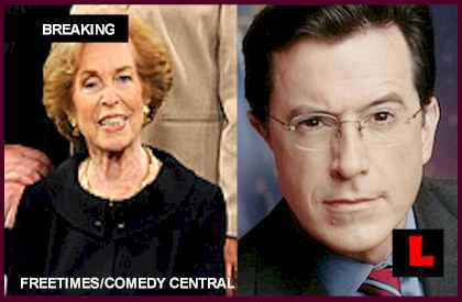 Lorna Colbert, Stephen Colbert Mother, Health Deteriorates - Colbert Report Suspended: REPORTS