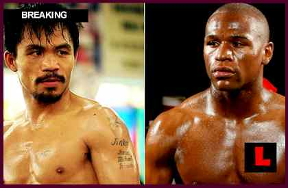 Mayweather vs Pacquiao 2012 Fight - Manny Pacquiao Tells Floyd Mayweather He's Ready