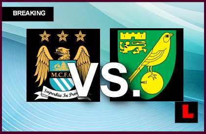 Manchester City vs. Norwich City 2013 Prompts Score Showdown en vivo live score results today