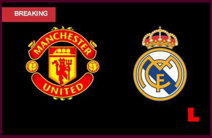 en vivo live score results Manchester United vs Real Madrid 2013 Battle in UEFA Game