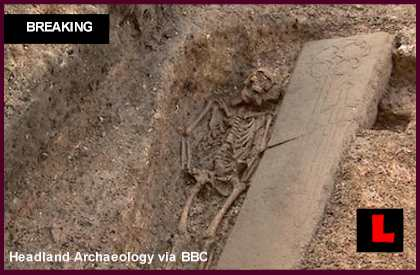 Medieval Knight Found Under Edinburgh Parking Lot