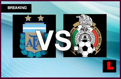 live score results channel today game en vivo  Mexico vs. Argentina 2013 Score Battle Heats Up Copa Mundial U17