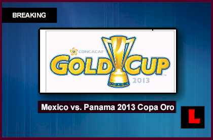 Mexico vs. Panama 2013 Copa Oro Soccer Game Prompts Gold Cup Semifinals