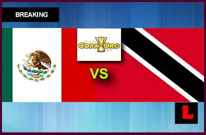 Mexico vs. Trinidad y Tobago 2013 Copa Oro Soccer Games Heads to Georgia en vivo live score results today