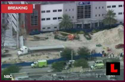 Miami-Dade College Garage Collapses, One Dead