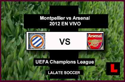 Montpellier vs. Arsenal 2012 Battle in UEFA Champions League Game