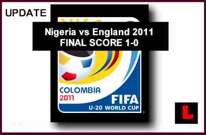 Nigeria vs England 2011: Obuh Seeks Country's First Title
