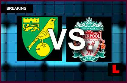 Norwich City vs. Liverpool 2014 Score Prompts EPL Table Results soccer football english premier league