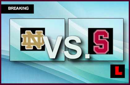 college football scores now score for stanford football game
