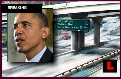 Obama L.A. October 7, 2012 Visit Prompts Road Closures