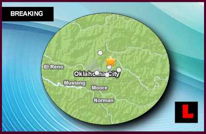 Oklahoma Earthquake Today 2013 Strikes Spencer