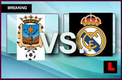 Olimpic de Xativa vs. Real Madrid 2013 Remains Scoreless at 40' en vivo live score results channel today game